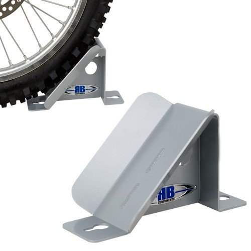 RB Components 2314 Deluxe Wheel Chock, Silver