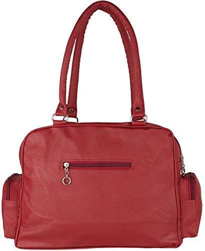 Bizarre Vogue Stylish Women Handbag with Wallet Combo (Maroon,BV1188)