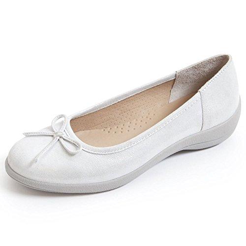 Ballet Silver Women's Roxy Padders Flats 8cATWpx