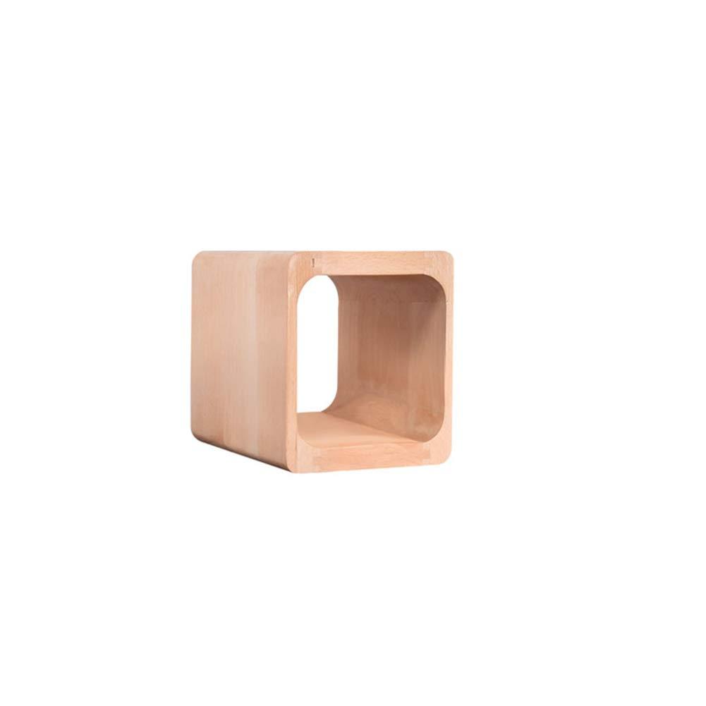 26  28  26 cm Solid Wood bedside table Combination Locker Creative Lattice Cabinet Bedroom Storage Storage Small Cabinet Multi-Function Cabinet