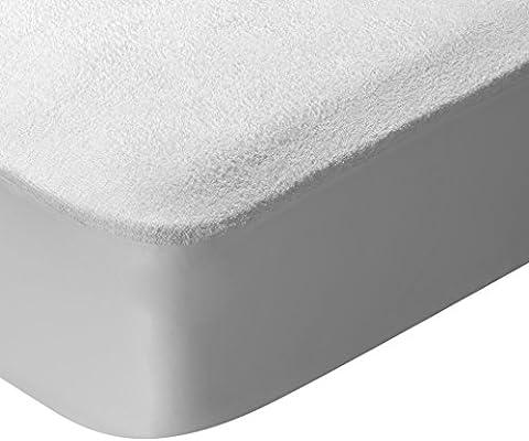 Pikolin Home - Protector de colchón, tejido rizo, algodón ...