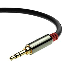 3.5mm Male To Male Stereo Audio Cable (12 Feet) by Mediabridge - Step Down Design - (Part# MPC-35-12 )