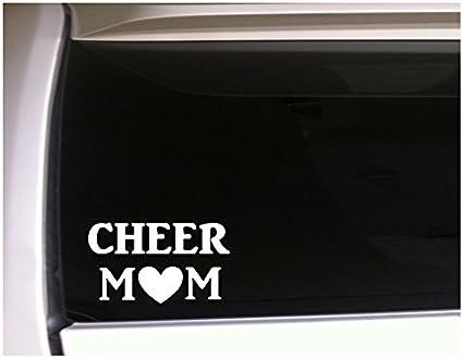 Cheer Mom Cheerleading Pom Pom Car Truck Laptop Window Decal Sticker
