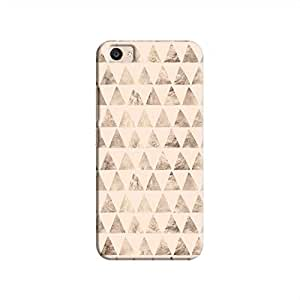 Cover It Up - Brown Pastel Triangle Tile V5 Plus Hard Case