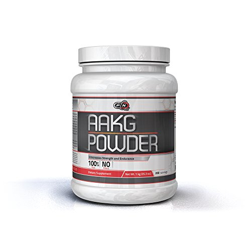 Pure Nutrition USA AAKG Powder Pre Workout L Arginine Conditionally Essential L-Arginine Amino Acid Sports Nutrition Fitness Bodybuilding Weight Lifting Cross Fit Training Supplement (1000 grams)
