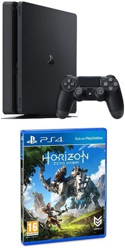 PlayStation 4 Slim (PS4) - Consola de 500 GB + Horizon Zero Dawn - Edición Normal: Amazon.es: Videojuegos