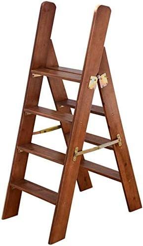 XITERTE Pasos Plegable de Madera Escaleras Paso 4 Paso Ligero, con barandilla Plegable Paso heces Silla Multiuso Escalera Banda de Rodadura escaleras Plegables Plataforma Escalera Escalera: Amazon.es: Hogar