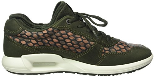 Print50152 Basses Femme Cs16 Forest Vert Ladies Ecco Baskets ikat deep tvz4xq4fnw