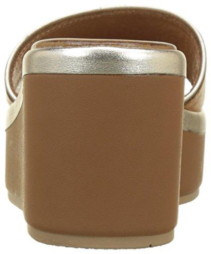 Women's Flip gold Coconut Inuovo 8681 Beige Flops 16781292 qCTww8zd