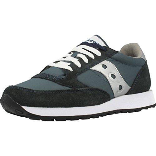 Saucony Originals Men's Jazz Sneaker,Navy/Silver,10 M