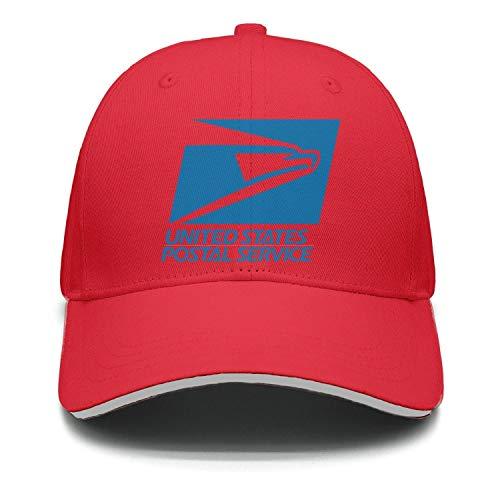 Mens Womens USPS-United-States-Postal-Service-Logo-red Cool Adjustable Baseball Hat