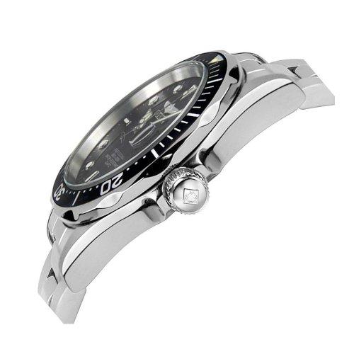 Invicta Men's 'Pro Diver' Quartz Stainless Steel Sport Watch, Color:Silver-Toned (Model: INVICTA-8932)