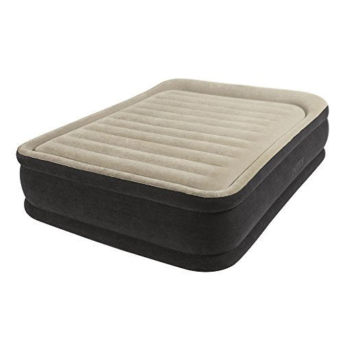 Intex Premium Comfort Airbed with Dura-Beam Technology, Queen, Bed Height 13