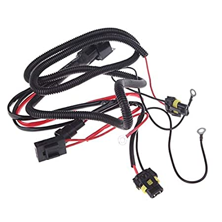 Amazon Com Xenon Hid Light Relay Wiring Harness Set H1 H3 H4 H7 H8