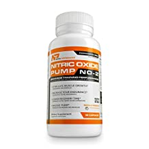 Nitric Oxide Supplement - NO2 Muscle Pump Booster with L-Arginine By Nutra Performance Supplements