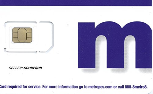 Metro PCS Try Cut SIM Card by MetroPCS