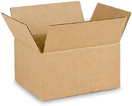 EcoBox 8 x 6 x 4 cm, caja – 25 cajas (v-11202): Amazon.es: Oficina ...