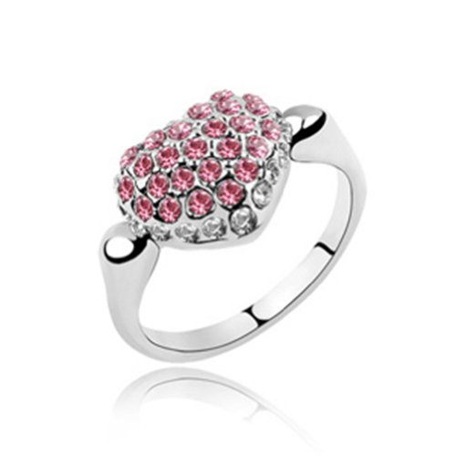 Mondaynoon-Swarovski-Elements-Austrian-Crystal-Rings-MeaningYou-are-My-Ideal-LoverSize7-8ColorRoseo