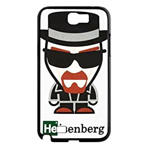 Gdragonhighfive Cell Phone Case Breaking Bad Main Character Cartoon Style Samsung Galaxy Note 2 N7100 Case Cover Unique Design