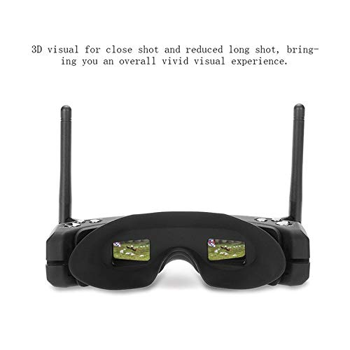 Wikiwand SKYZONE SKY02S V+ 3D 5.8G 40CH FPV Goggles Video Glasses w/ Transmitter Camera by Wikiwand (Image #7)