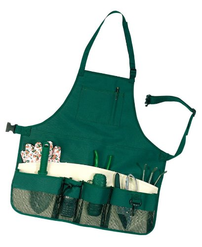 GardeningWill 600d Oxford Fabric Thickening Making Waterproof Wear-resistant Green Garden Tools Bag Aprons AHGRD000059
