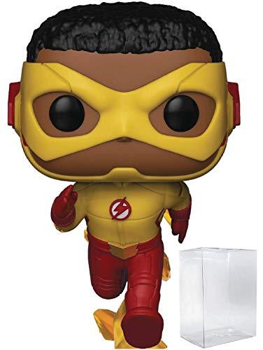 (Funko Pop! DC Comics: The Flash TV Series - Kid Flash Vinyl Figure (Includes Pop Box Protector Case))
