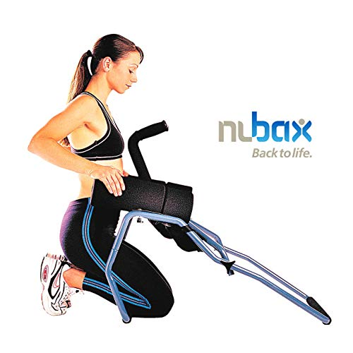 Nubax Trio Back Stretching Machine Spinal Traction Decompression for Back Pain and Back Aches Realign Posture and Maintain Back Health