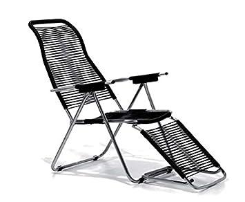 Liegestuhl Mit Fußteil.Jan Kurtz Spaghetti Chair Sonnen Liegestuhl Mit Fußteil