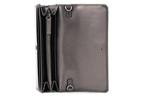 LACOSTE Chantaco Christmas Mini Crossover Wallet Shiny Grey Manchester En Línea Barata LAdgzIlAFu