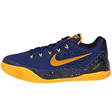 Nike Kid's Kobe IX (GS), GYM BLUE/UNIVERSITY GOLD-OBSIDIAN