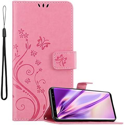 Cadorabo Hülle Für Samsung Galaxy S9 In Floral Rosa Elektronik