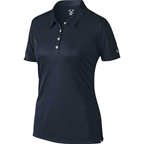 Oakley Women's Basic Polo, Navy Blue, - Blue Oakleys Navy