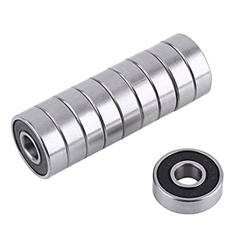 10 Bearing 8mm x 14mm x 4mm Stainless Sealed Id=8 Od=14