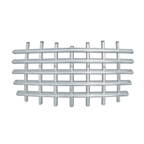 - Bully  GI-21 Triple Chrome Plated ABS Snap-in Imposter Grille Overlay, 1 Piece