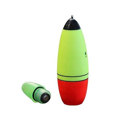 FCGV Flotador Luminoso de Pesca con Flotador LED Boia Tipo de Espuma Herramientas para la Pesca