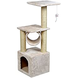 "36"" Deluxe Cat Tree Condo Furniture Scratching Post Kitten Pet Play W/Toy House"