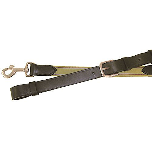 Leather Side Reins - Legacy Bridlery Leather Elastic Side Reins