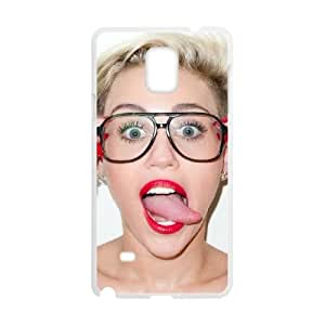 Samsung Galaxy Note 4 Cell Phone Case White Miley Cyrus dhrt