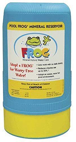 - Pool Frog 5100 Series Above Ground Swimming King Technology Mineral Cartridge 6100-10,000 to 25,000 Gallon Pools