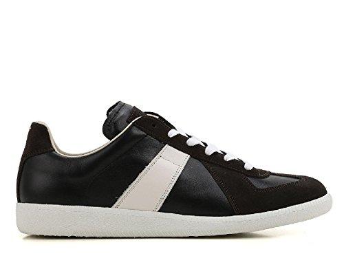 Maison Margiela Sneakers da Uomo in Pelle Nero - Codice Modello: S57WS0134 SY0299 Nero