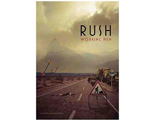 Rush - Working Men - Textile Poster Flag - Free Shipping