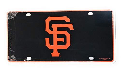 - Stockdale San Francisco Giants Aluminum Metal Tag Novelty License Plate Baseball