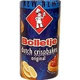 12 Count Bolletje Beschuit Original/Regular (Dutch Crispbakes/Dutch Rusk/Light Crisp Toast)12 Roll ea 125gram 4.4oz