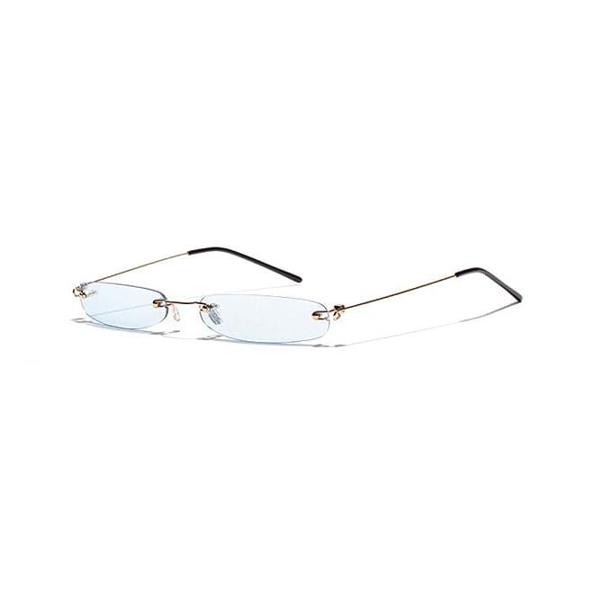 Amazon.com: Capsear 2019 - Gafas de sol estrechas y ...