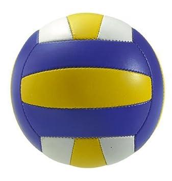 Takestop® – Balón de volley playa azul. Peso y tamaño oficial ...