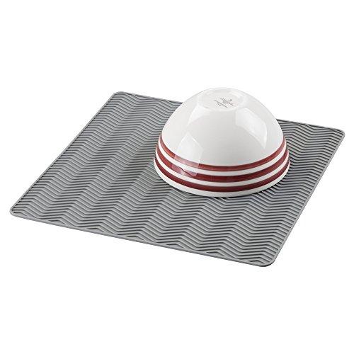 mDesign Silicone Chevron Kitchen Countertop