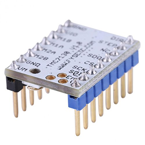 Isguin 1pc TMC2130 Stepper Motor Driver Module With Heat Sink 3D Printer Part Replacement by Isguin