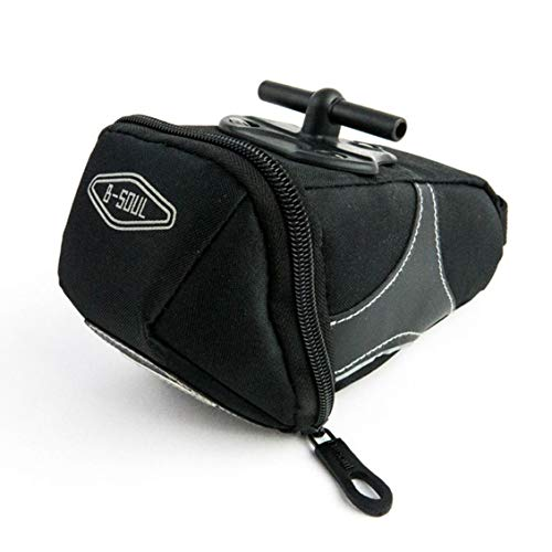 - gbeiyuanquw YA130 Bike Front Frame Top Tube Front Triangle Saddle Bag Pouch Pannier Black