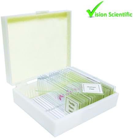 Vision Scientific VSH114 Prepared Slide Set – Forensics (Set of 17)