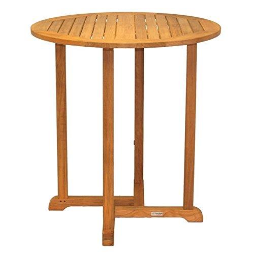 Three Birds Casual Oxford Round Bar Table, 36-Inch